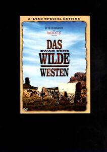DAS WAR DER WILDE WESTEN  3 - Disc Special - Edition  im Pappschuber  (DVD)