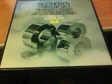 BOX 2 LP + BOOKLET BEETHOVEN SYMPHONIE NR.9 VON KARAJAN MAI SUONATO  DG 2707 109