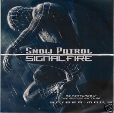 SNOW PATROL Signal Fire UK promo CD Spider-Man 3 radio edit SIGNAL1