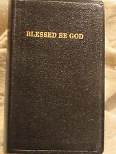 Traditional Catholic Blessed Be God Prayer Book Leather Bound Latin Mass