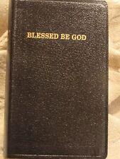 Traditional Catholic Blessed Be God Prayer Book Leather Bound Latin Mass