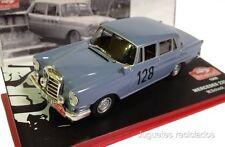 1/43 MERCEDES 220SE SCHOCK 1960 RALLY MONTECARLO  IXO ALTAYA