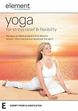 "Element: Yoga for Stress Relief and Flexibility DVD R4 ""sale"""