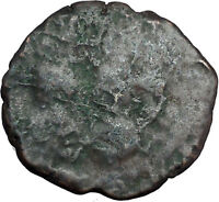 Justin I & Justinian I  the Great  Very rare Byzantine Coin Large K   i33171