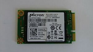 128GB MSATA SSD - Tested and wiped - Various makes