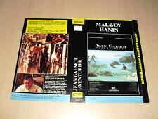 JAQUETTE VHS Jean Galmot, aventurier Christophe Malavoy Roger Hanin