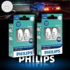 2X Philips W5W T10 LED Ultinon 11961ULWX2 6000K daylight effect 12V 4 bulbs