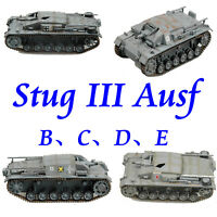 Easy Model German Stug III Ausf. B、C、D、E Plastic Tank Model All of Easy Model