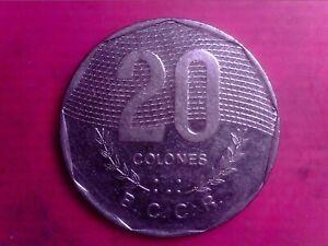 COSTA RICA   20 COLONES    1994     BIG COIN    JUN16