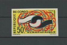 KONGO EUROPAFRIQUE 1965 EUROPA CEPT UNGEZÄHNT IMPERF NON DENTELE RARE!! h4892