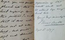 More details for marie corelli, english novelist autograph letter concerned about her image