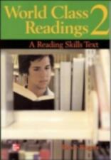 *BRAND NEW* WORLD CLASS READINGS Student Book 2 : A READING SKILLS TEXT