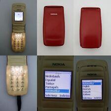 CELLULARE NOKIA 2650 ROSSO GSM UNLOCKED SIM FREE DEBLOQUE