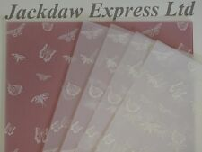 10 x A4 110gsm con Stampa Pergamena Carta Bianco Butterflíes per Creazione