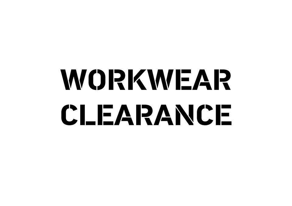 WORKWEAR CLEARANCE BARGAINS