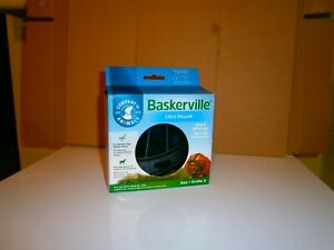 BASKERVILLE ULTRA DOG MUZZLE SIZE 4  RECOMMENDED BY DR ROGER MUGFORD NEW BOXED