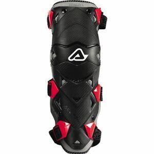 Black/Red Sz One Size Acerbis Impact Evo Knee/Shin Guards