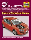 Haynes Manual Volkswagen VW Golf & Jetta 2004-2009 NEW 4610