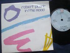 Robert Plant – In The Mood Label: WEA Records B6970 UK Vinyl 7inch Single