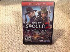 Total War: Shogun 2 -- Fall of the Samurai: Limited Edition (PC, 2012)