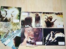 SAUVAGE ET BEAU ! Frédéric Rossif jeu 8 photos cinema lobby cards lion tigre