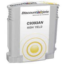 Reman Yellow Ink Cartridge for HP 88XL C9393AN OfficeJet Pro L7580 L7590 L7600