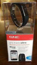 GNC Live Well Pro Track Ultra Wireless Activity Tracking Band BLACK NIB