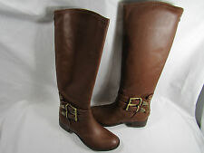 Boutique9 Traden Brown Leather Riding Boot Size 7.5 (MSRP $300) 11497
