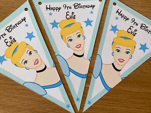 Personalised handmade Cinderella/ party / decoration / Birthday