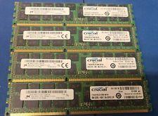 Lot of 4 Micron MT36KSF1G72PZ-1G6K1HG 8GB PC3L-12800R Server Memory