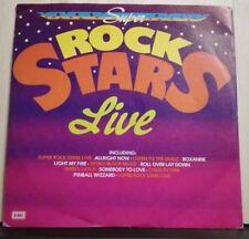 SUPER ROCK STARS LIVE - vinile 45 giri nuovo DANCE ALL NIGHT - 1981 E.S.