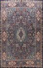 Vintage Dynasty Historical Bird Design Area Rug Hand-Knotted WOOL Carpet 10x13