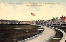 Chattanooga Tennessee Fort Oglethorpe Army Post Antique Postcard K38743