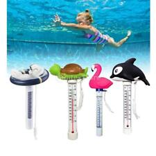 """8.66"""" Cartoon Floating Outdoor Swimming Pool Hot Tub Thermometer with String"""