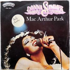 DISCO VINILE 45 GIRI DONNA SUMMER MAC ARTHUR PARK ONCE UPON A TIME ITALY 1978