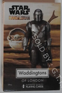 STAR WARS - THE MANDALORIAN PLAYING CARDS - WADDINGTONS NO.1 - FREE UK P&P