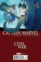 CAPTAIN MARVEL #4 CIVIL WAR Variant Cover B 1ST PRINT