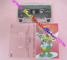 MC PREZZEMOLO CANTA GARDALAND il cantagiocando 3 FAC 1039 no cd lp vhs dvd