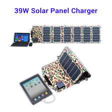 39W 18V 5V Efficient Solar Panel Charger Foldable for Laptop Ipad Cell Phone Use