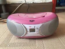 Bush bluetooth CD boombox pink CD78 BTFM
