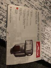 Metz Mecablitz 50 AF-1 Digital Shoe Mount Flash for  sony minolta