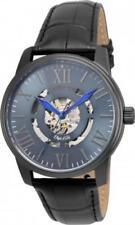 Invicta 22602 42mm Objet d'Art Automatic Skeletonized Leather Strap Men's Watch