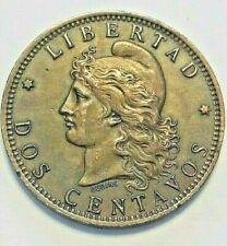 Monnaie, Argentine, 2 Centavos, 1890, SUP, Bronze, KM:33 Argentina