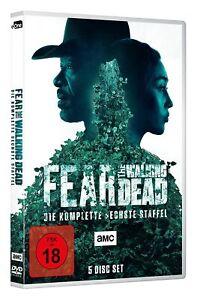 FEAR THE WALKING DEAD DIE KOMPLETTE DVD STAFFEL SEASON 6 DEUTSCH UNCUT VERSION