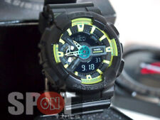 Casio G-Shock Lime Accent Analog Digital Men's Watch GA-110LY-1