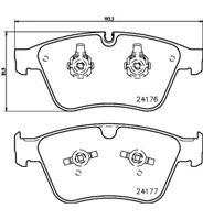 Front Brake Pads Prepared For Wear Indicator - Mintex MDB2983 Mercedes ML63 AMG