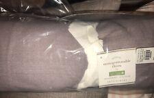 "Pottery Barn Mononogram Throw~ Lavender (purple) New 50X60"" Sofa Throw $69"