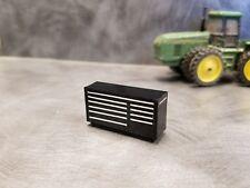1/64 Custom scratch Farm black toolbox