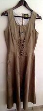 Damen Trachten Kleid ärmellos grün Gr. 36 v. Hammerschmid