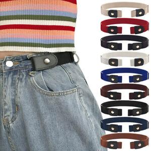 Jeans Pants Dresses Invisible Belt No Bulge No Hassle Stretch Waist Belts Unisex